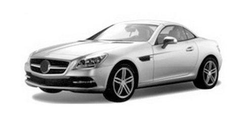 2012 Mercedes-Benz SLK revealed in trademark images