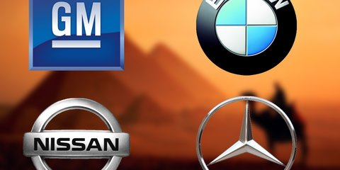 BMW, GM, Mercedes-Benz and Nissan close factories in Egypt