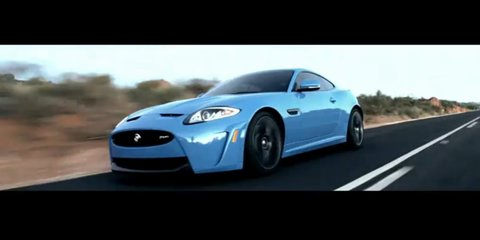 Video: Jaguar XKR-S ad reveals first rolling footage