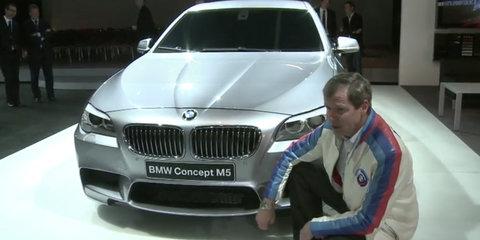 Video: BMW M5 Concept customer presentation
