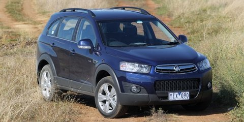 2011 Holden Captiva Series II Review