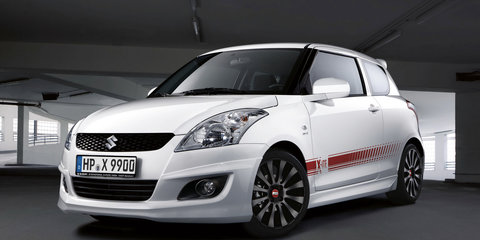 2011 Suzuki Swift X-ITE accessories released in Germany