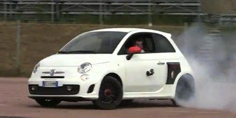 Video: Aznom Fiat 500 Motore Centrale R230
