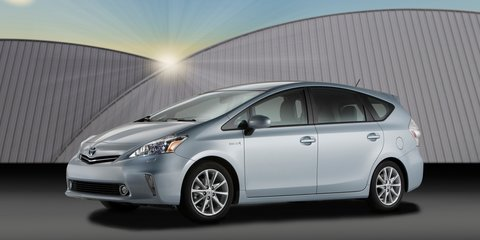 Toyota Prius v to join hybrid family at 2011 Australian International Motor Show