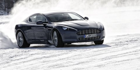 Aston Martin Rapide sets off on tour of Alaska