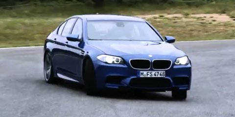 Video: 2012 BMW M5 promotional track video