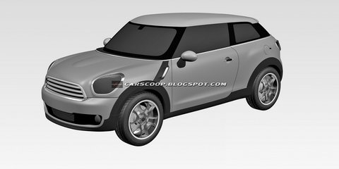 MINI Paceman design patent filed
