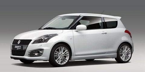 2012 Suzuki Swift Sport unveiled before 2011 Frankfurt Motor Show