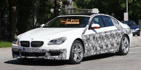 2013 BMW 6 Series Gran Coupe M Sport spy shots