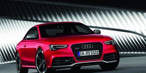 2012 Audi RS 5 facelift revealed at Frankfurt Motor Show