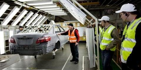 Strikes hurting Australia's export future: Toyota CEO