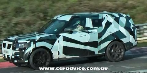 Next-Generation Range Rover spy video