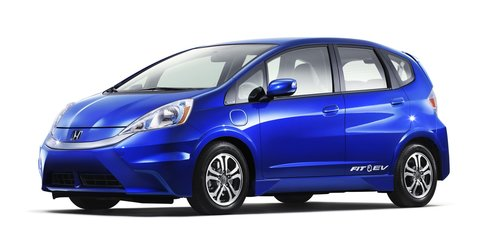 2013 Honda Fit EV revealed, no electric Jazz for Australia