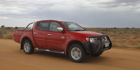 Mitsubishi 30th Anniversary Lake Eyre Tour