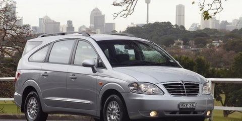 Ssangyong Australia cuts price of Kyron, Rexton, Stavic