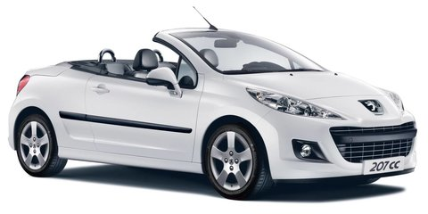 2012 Peugeot 207 CC adds more features, price unchanged