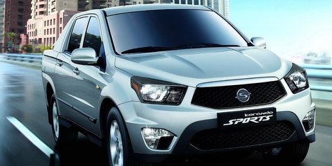 2012 SsangYong Actyon Sports: Efficient ute revealed