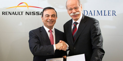Nissan and Daimler to produce engines together in the US