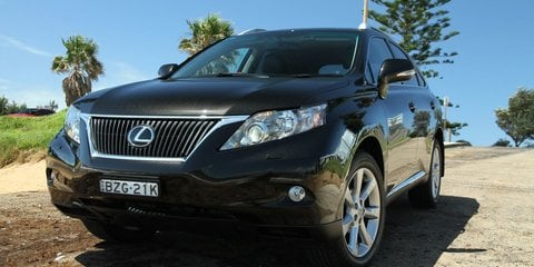 Lexus RX350 Sports Luxury: Review