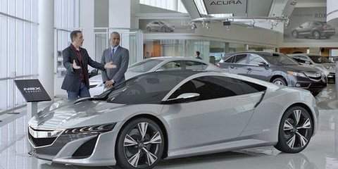Seinfeld will do anything to get the first Honda NSX