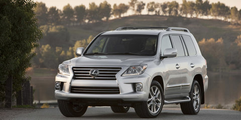 2012 Lexus LX570 facelift coming to Australia in Q2