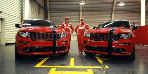 Jeep Grand Cherokee SRT8 inspired by Ferrari