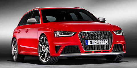 Audi RS4 Avant here in early 2013