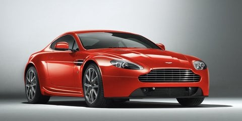 2012 Aston Martin V8 Vantage facelift revealed