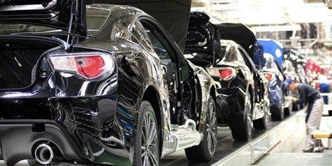 Subaru BRZ and Toyota 86 production starts