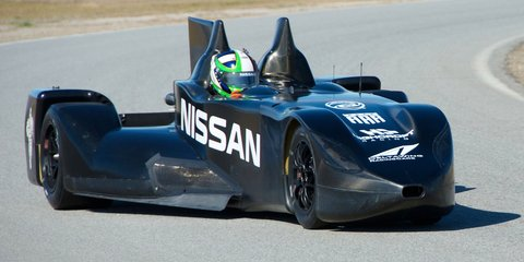 Nissan DeltaWing Le Mans racer revealed