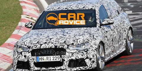 2013 Audi RS6 Avant: Nurburgring spy shots