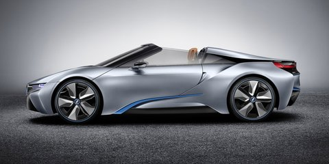 BMW i8 Spyder nearing production, concept bound for CES - report
