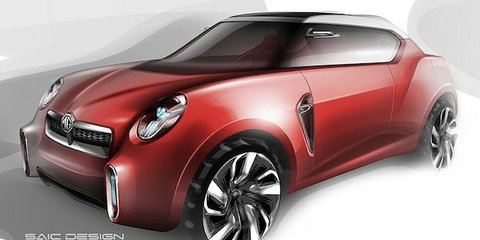 MG Icon concept: retro style for first SUV