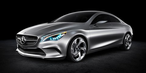 Mercedes-Benz Concept Style Coupe: the 'CLS Junior'