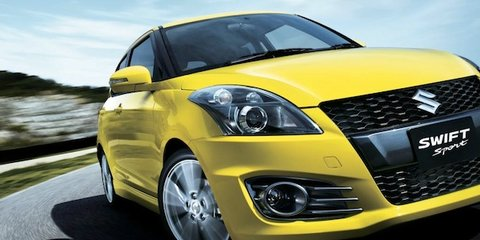 Suzuki Swift Sport too quick for TV