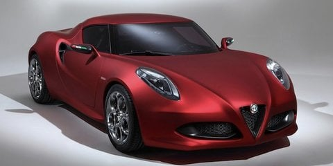 Alfa Romeo 4C wins exclusive design award in Italy