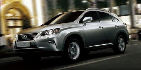 Lexus RX270: four-cylinder SUV to challenge BMW X3