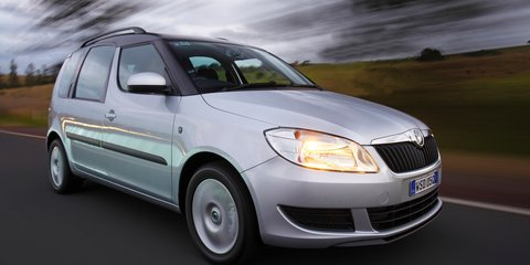 Skoda Roomster axed again in Oz