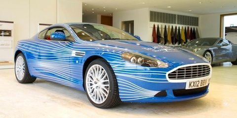 Aston Martin DB9 1M designed by Facebook fans