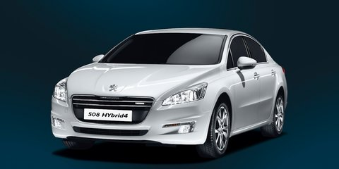 Peugeot 508 HYbrid4: diesel-electric large sedan launched
