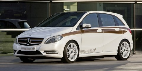 Mercedes-Benz B-Class E-Cell to feature Tesla electric drivetrain