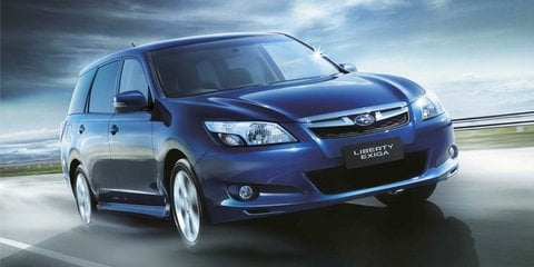 Subaru Liberty Exiga: seventh seat now standard