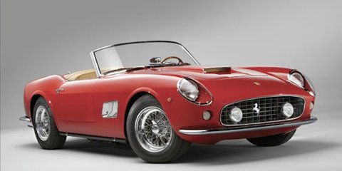 1962 Ferrari 250 GT SWB California Spyder: Italian classic set for auction