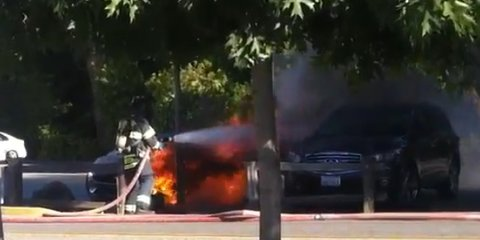 Fisker Karma: car maker says battery not to blame for second fire
