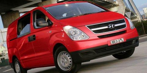 Hyundai iMax, iLoad upgrades increase diesel fuel efficiency