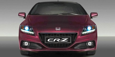 2013 Honda CR-Z: fresh face for sporty hybrid