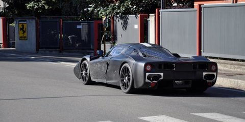 Ferrari F70 caught on video