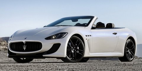 Maserati GranCabrio MC Stradale revealed