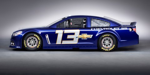 Chevrolet SS NASCAR revealed: 2013 VF Commodore in US race car mode