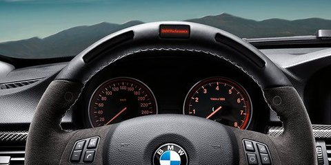 BMW M Performance steering wheel lights up enthusiasts